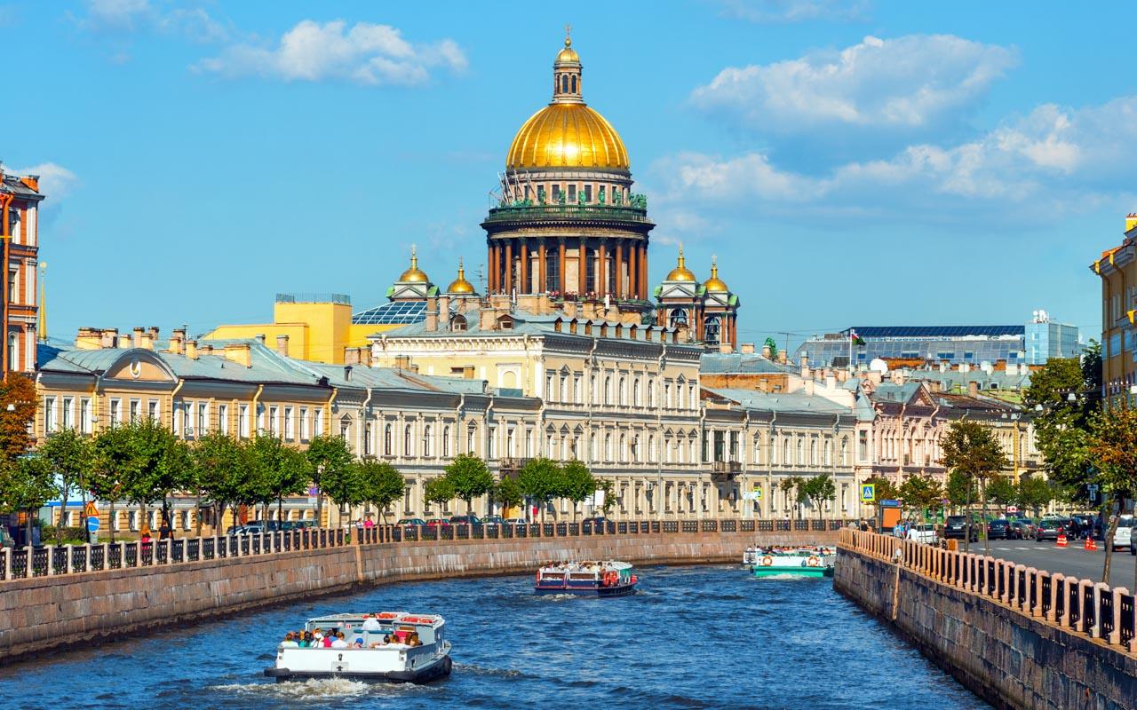 Beste Reisezeit Juli Sankt Petersburg