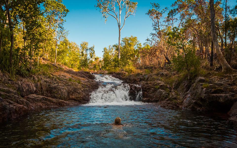 Buley Rockholes Litchfield NP Australien
