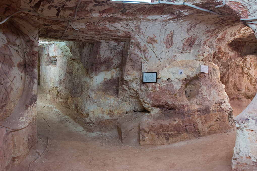 Coober Pedy Opalmine Besuch