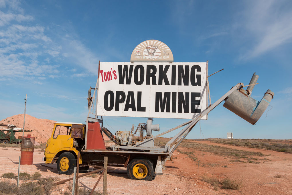 Tom's Working Opal Mine Coober Pedy