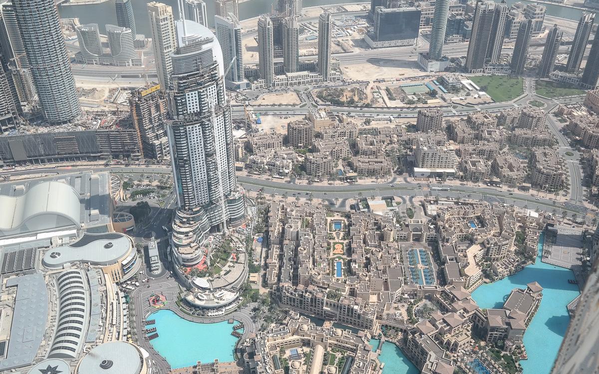 Dubai Burj Khalifa 124. Etage