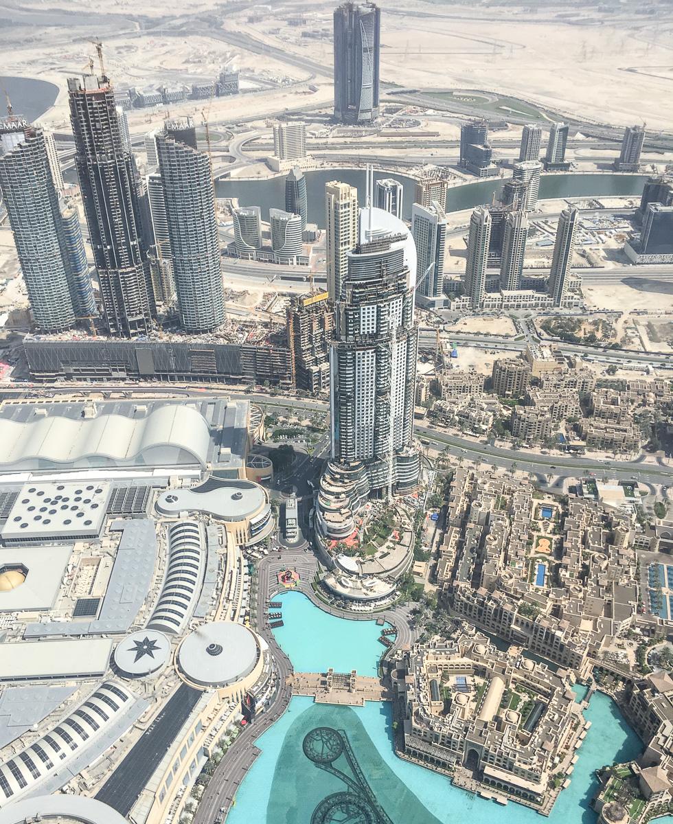 Burj Khalifa Dubai Aussichtsplattform