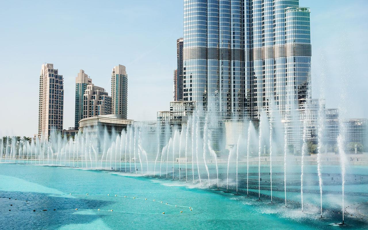 Dubai Fountain Sehenswürdigkeiten