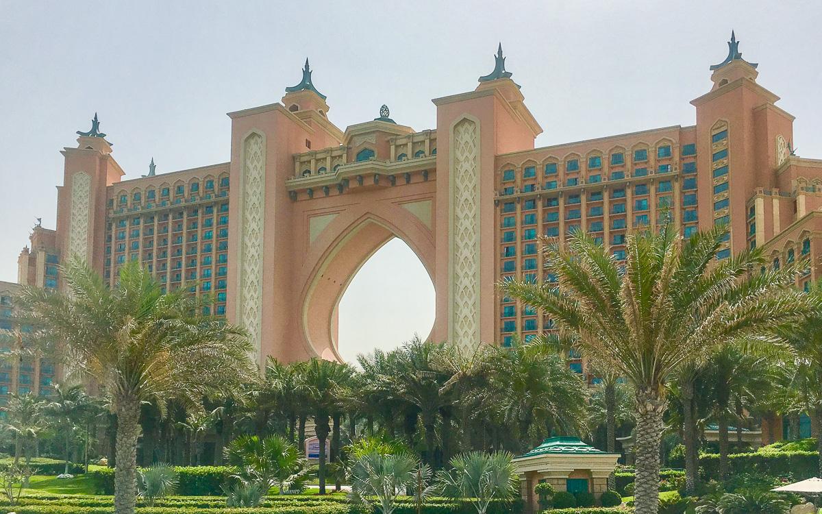 Palm Island Atlantis Hotel Dubai