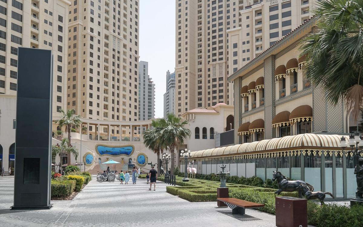 Jumeirah Beach Promenade Dubai