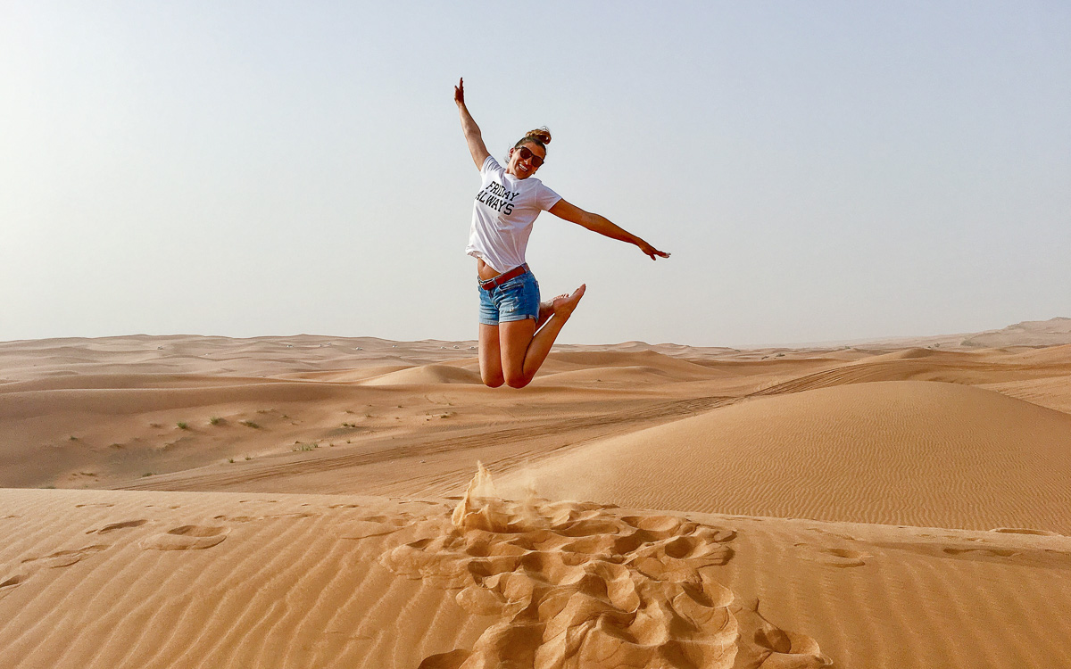 Dubai Tipps Wüstensafari Isa