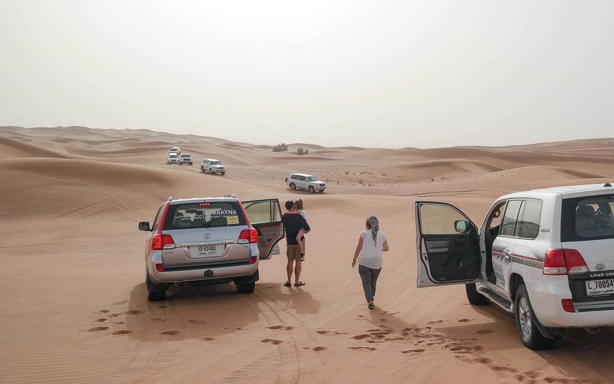 Dubai Tipps Wüsten Safari
