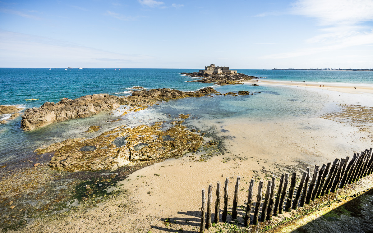 Fort National Saint-Malo, Bretagne