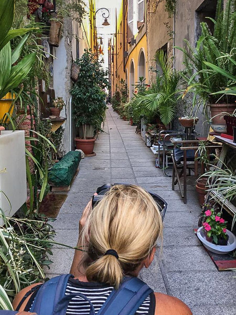 Castello Viertel Cagliari enge Gassen