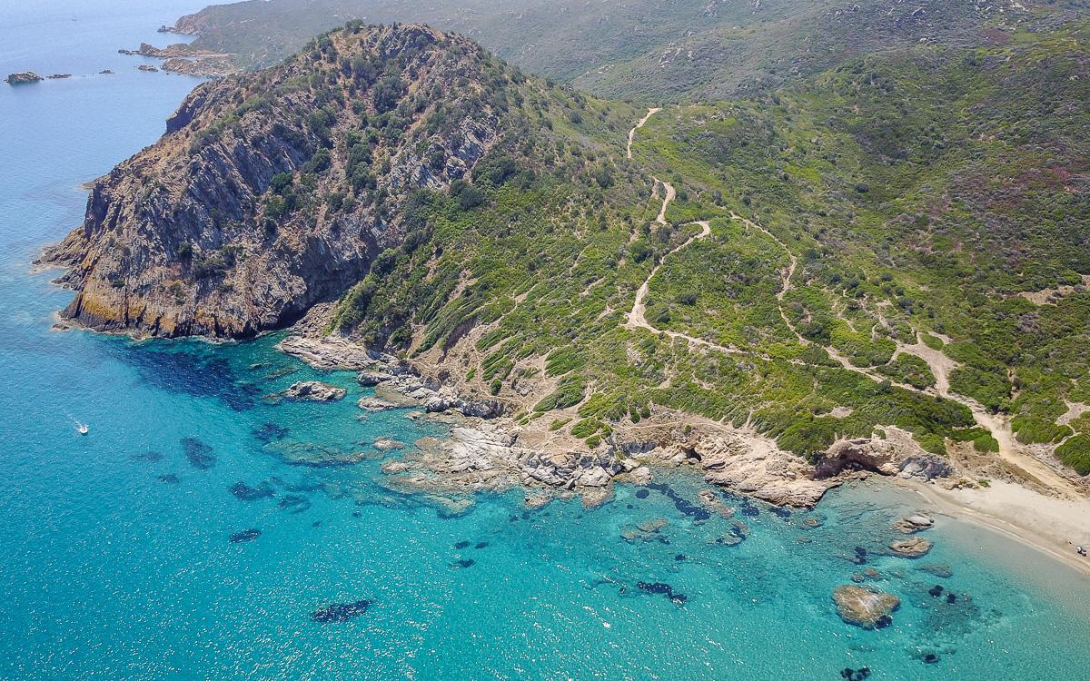Capo Ferrato Sardinien Strand