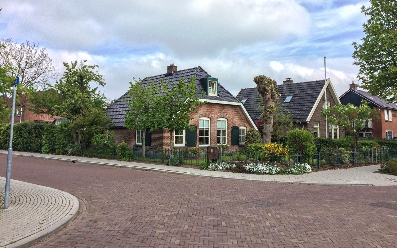 Radtour Holland Dörfer