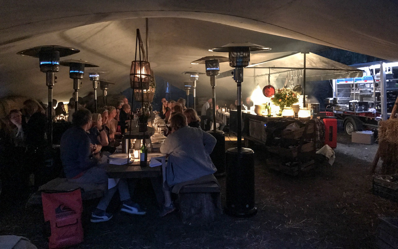 Holland Lekkerradeln Outdoor Dinner