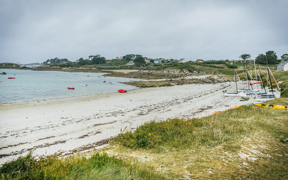 Atlantikinsel Ile de Batz, Bretagne
