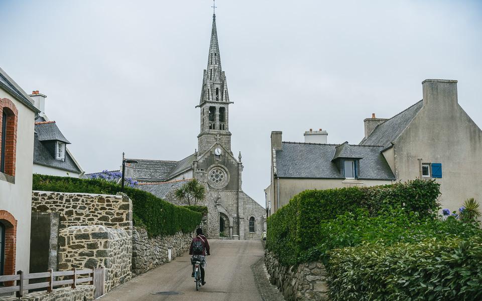 Ile de Batz Fahrrad Bretagne