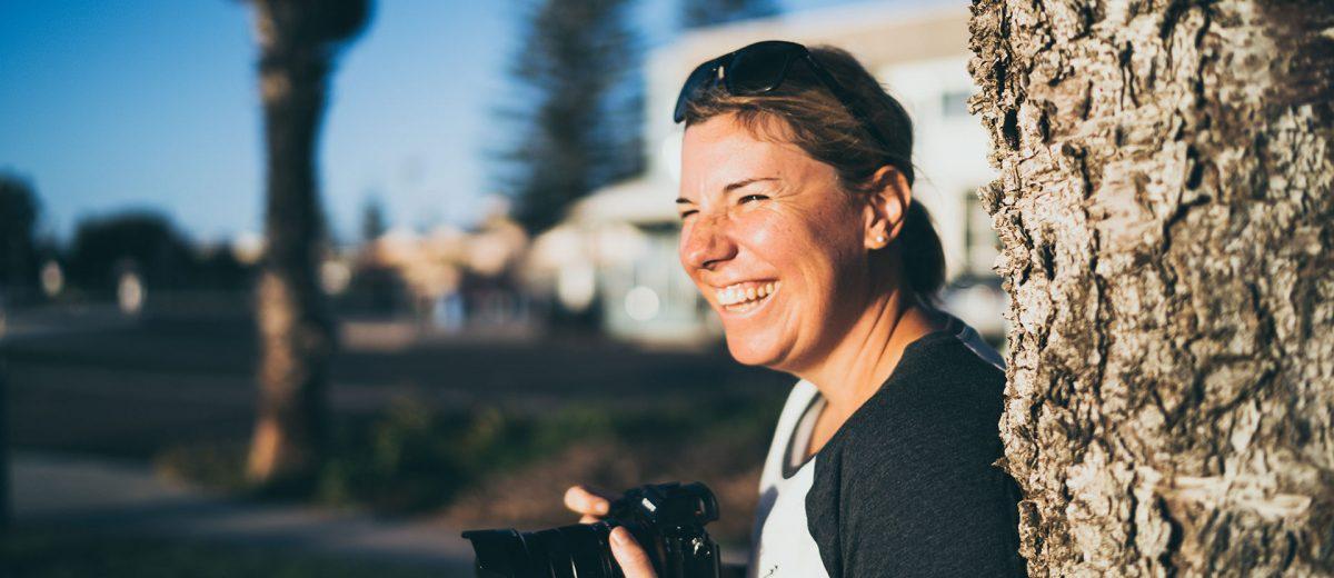Katrin Lehr in Australien