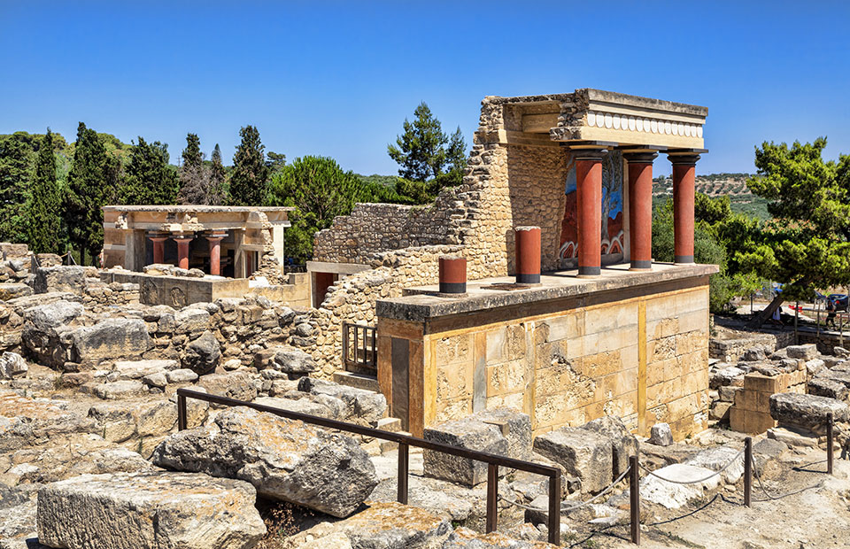 Crete Knossos Excavations best holiday destinations for October