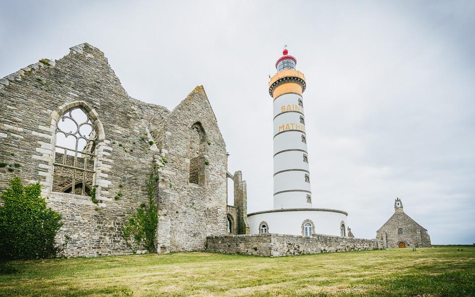 Leuchtturm in Saint-Mathieu Bretagne