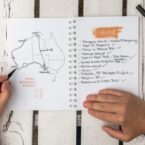 Reisetagebuch kaufen Tipps Journey Book Australien