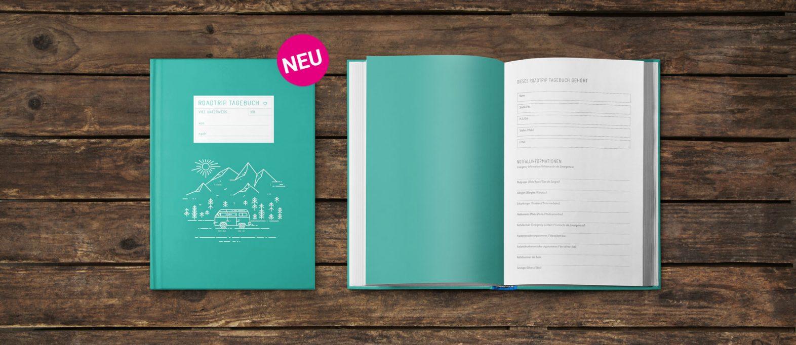 Reisetagebuch schreiben: Tipps zum gestalten, schreiben und kaufen