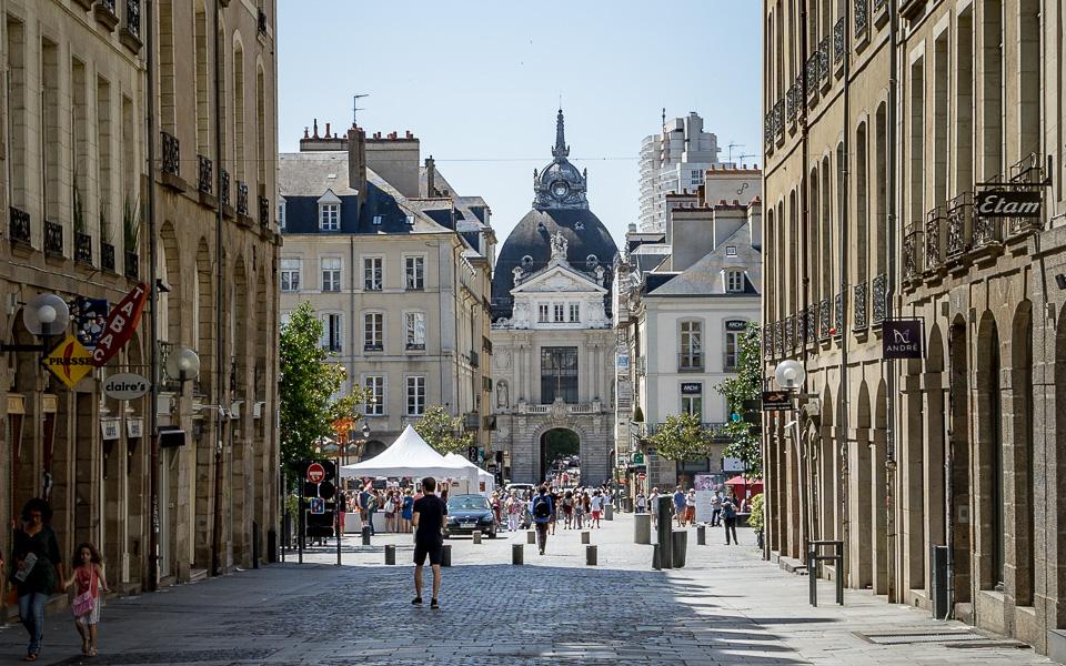 Handelshof in Rennes Bretagne