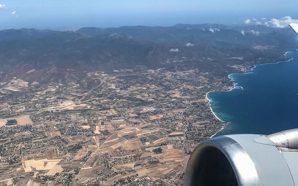 Sardinien Tipps kurze Anreise Flugzeug