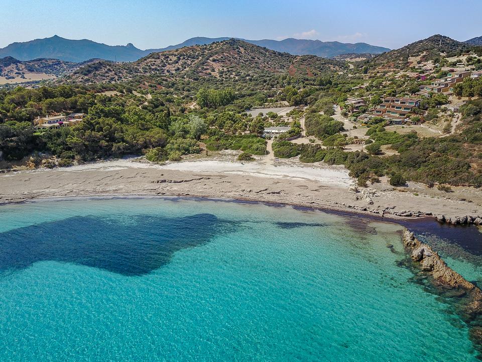 Ferienhaus Villasimius am Meer Sardinien
