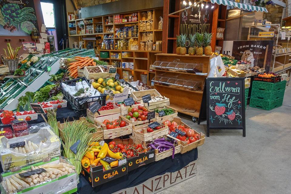 Gemüse in der Markthalle Zürich Viadukt