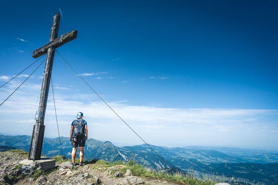 Gipfel Kanisfluh Bregenzerwald