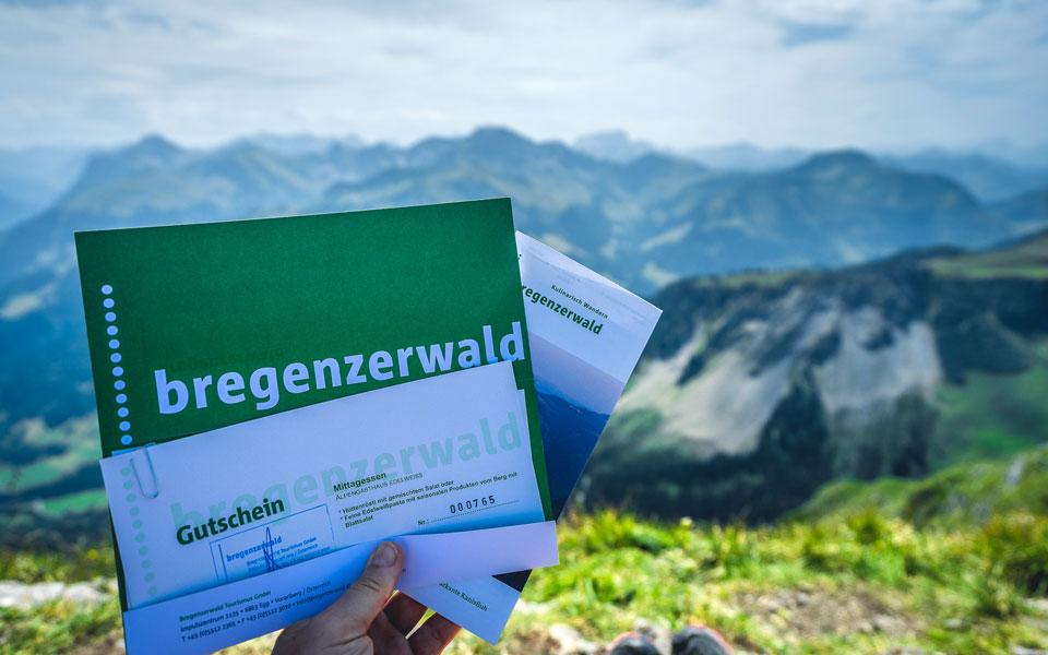 Gutschein zum kulinarischen Wandern im Bregenzerwald