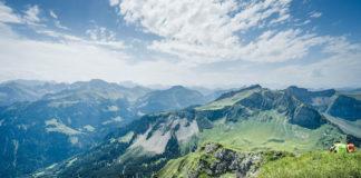 Bregenzerwald im Sommer Kanisfluh