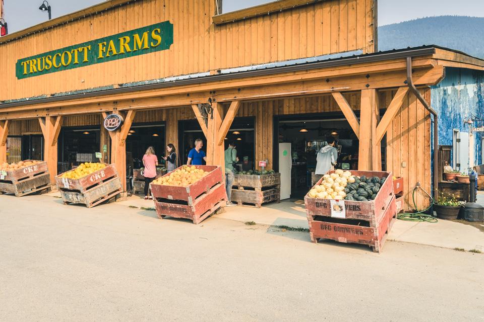 Kootenay Rockies Farmen Obst kaufen