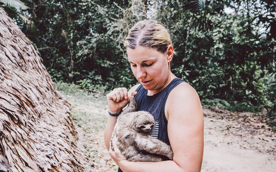 peru-reisebericht-amazonas-faultier-baby