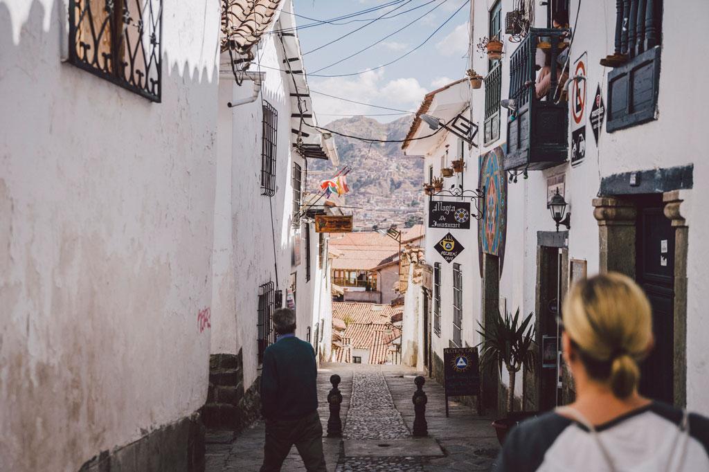 Cusco Peru Altstadt