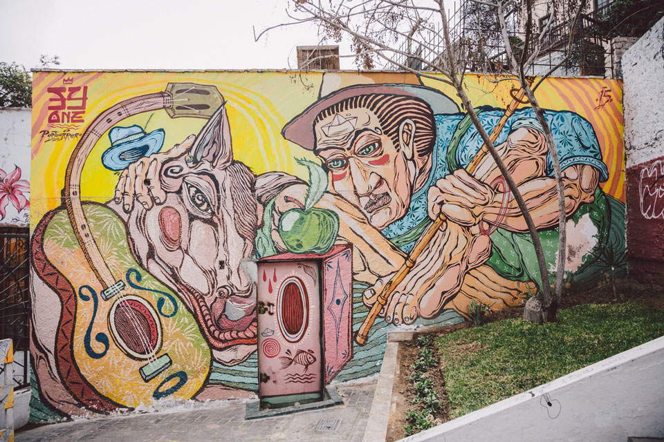peru-reisebericht-lima-streetart-pasaje-oroja