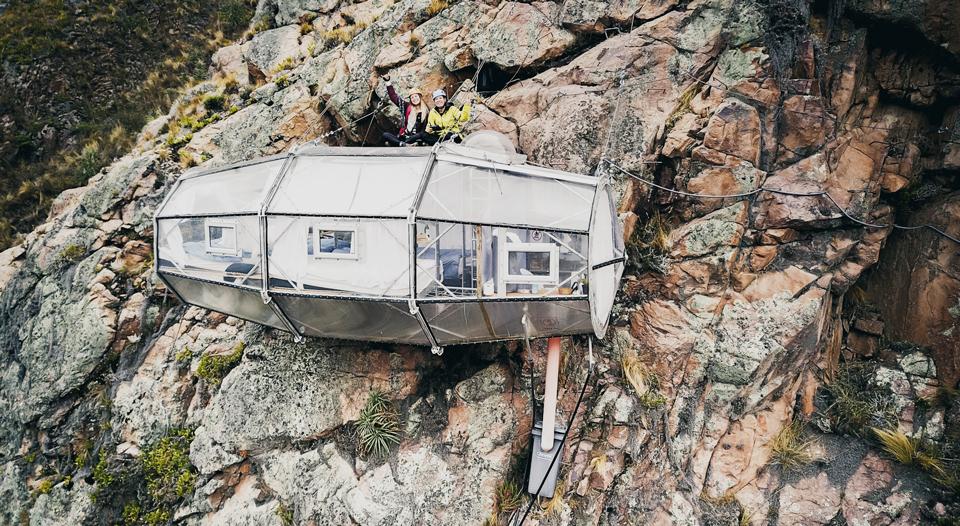 Skylodge Adventure Suites Peru Kapsel
