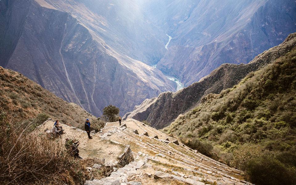 choquequirao-aussicht-lama-terrassen-3