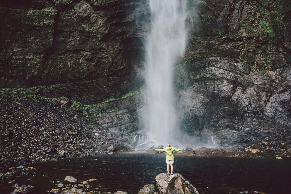 Gocta Wasserfall Peru