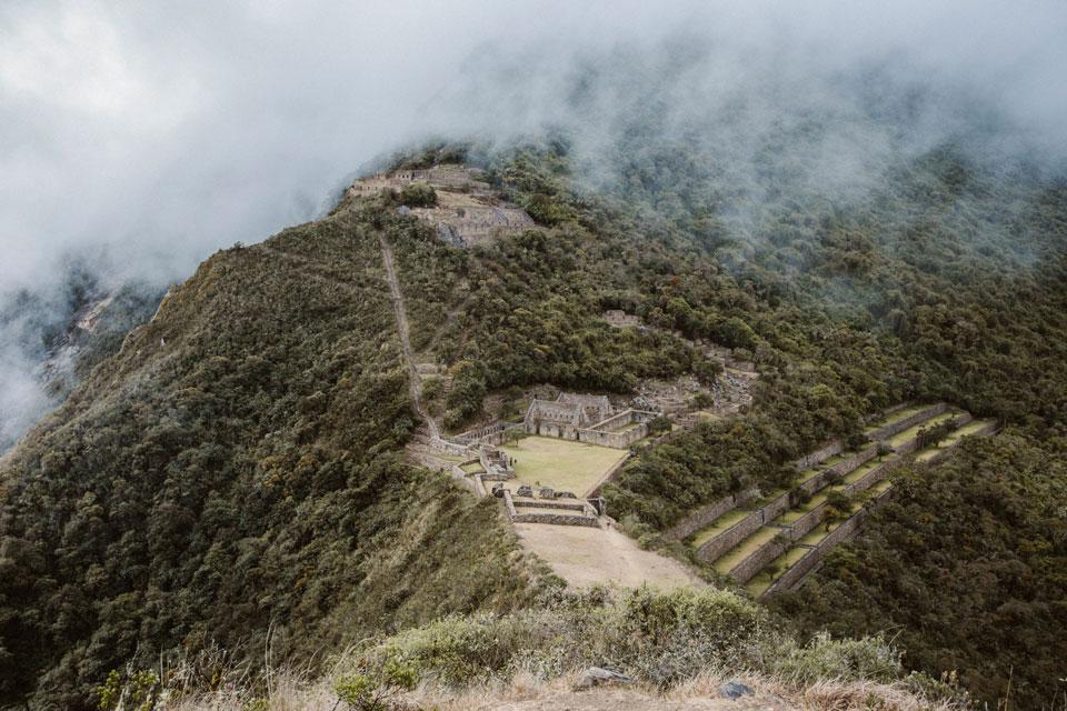 Choquequirao Inka Stätte Peru