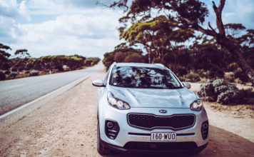 Autofahren Australien Nullabor Plains