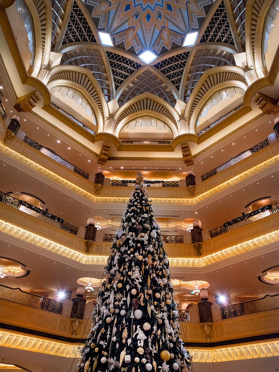 Emirates Palace Abu Dhabi, Weihnachtsbaum