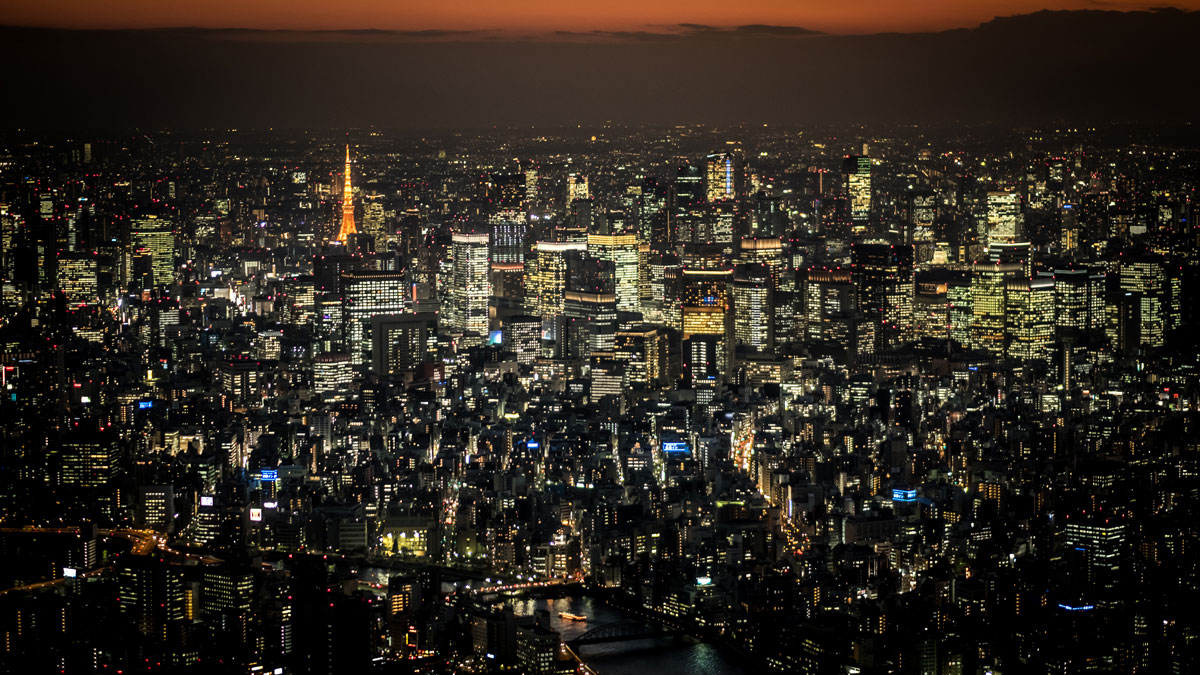 Tokio bei Nacht | Japan Reise planen