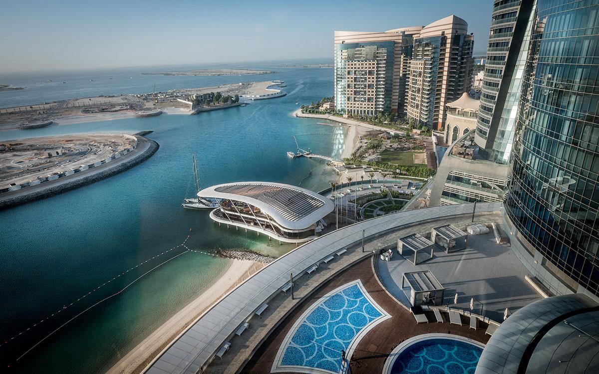 Ausblick Zimmer Jumeirah at Etihad Towers Abu Dhabi