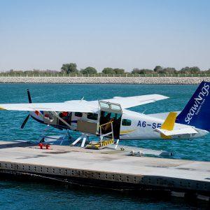 Rundflug Wasserflugzeug Abu Dhabi