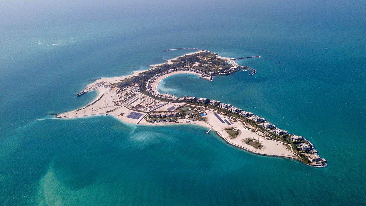 Zaya Nurai Island Luftaufnahme
