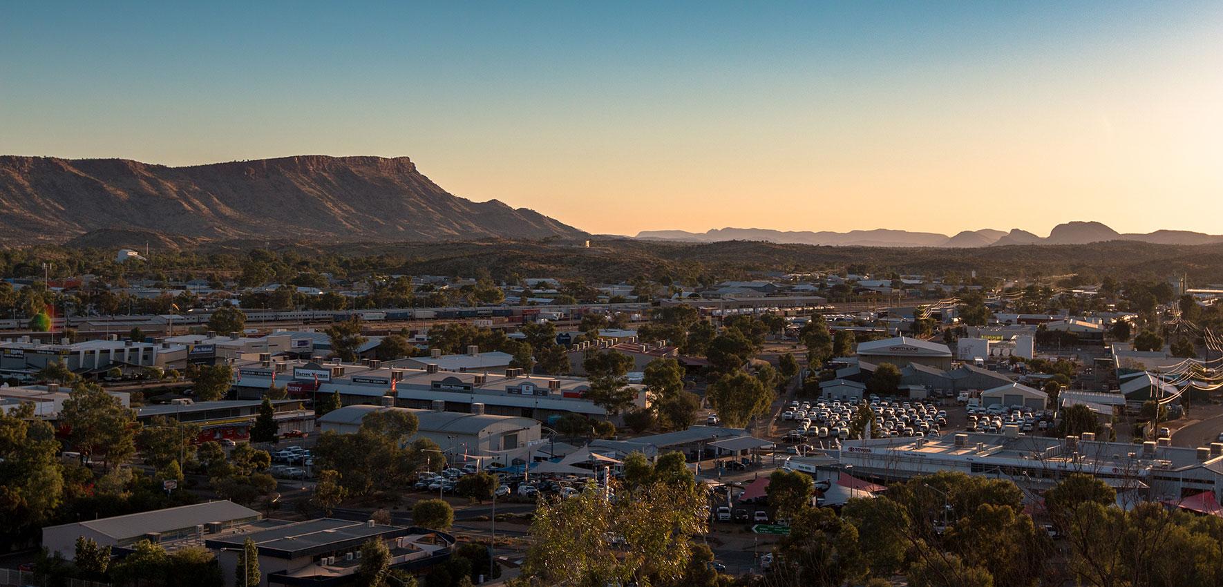 Aussichtspunkt Alice Springs