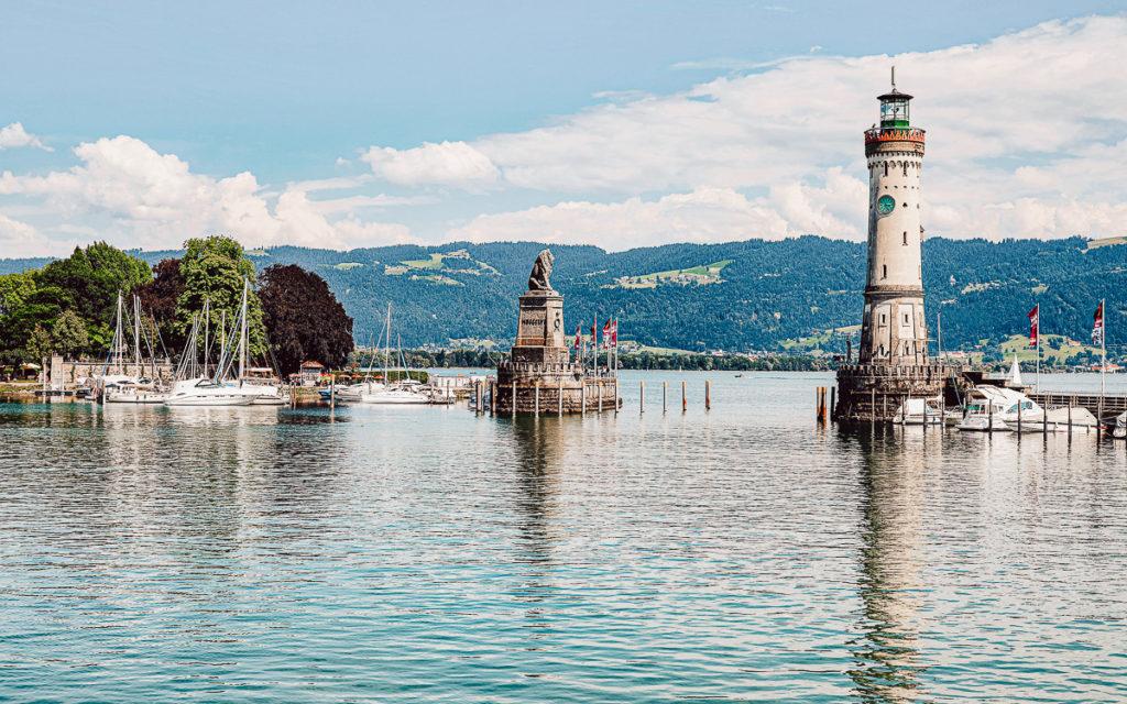 Lindau Hafen Bodensee