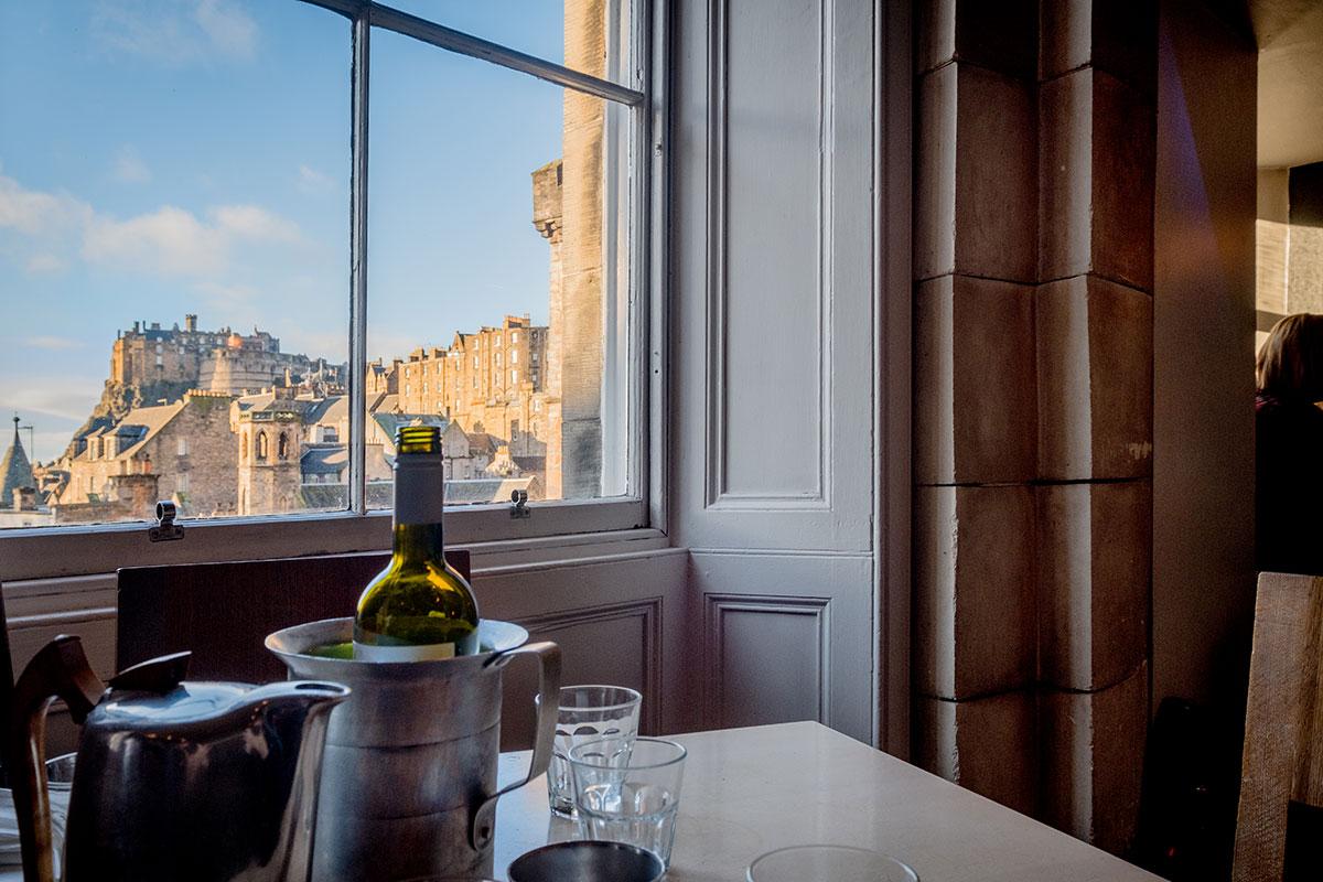 Essen Tipp Edinburgh The Outsider