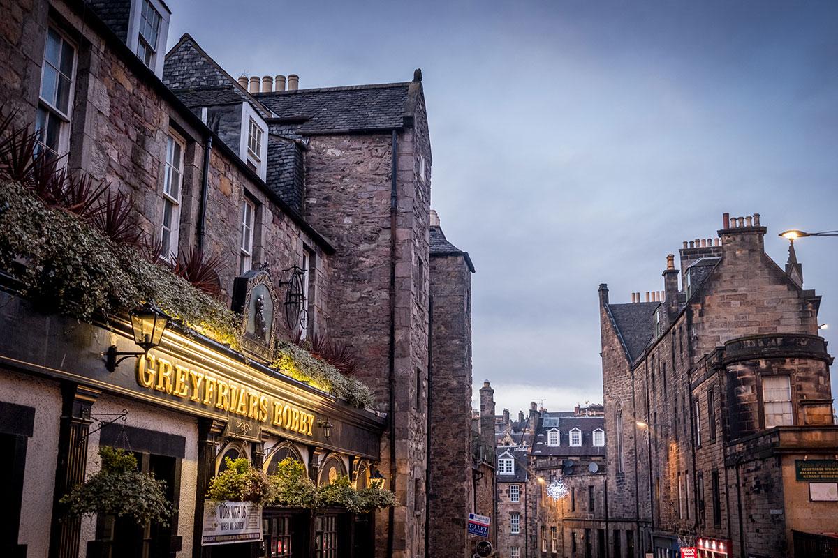 Edinburgh Greyfriars Kirkyard