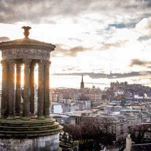 Edinburgh Tipps Kurztrip Calton Hill