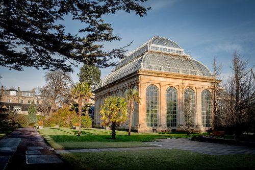 Botanischer Garten Edinburgh Glashaus